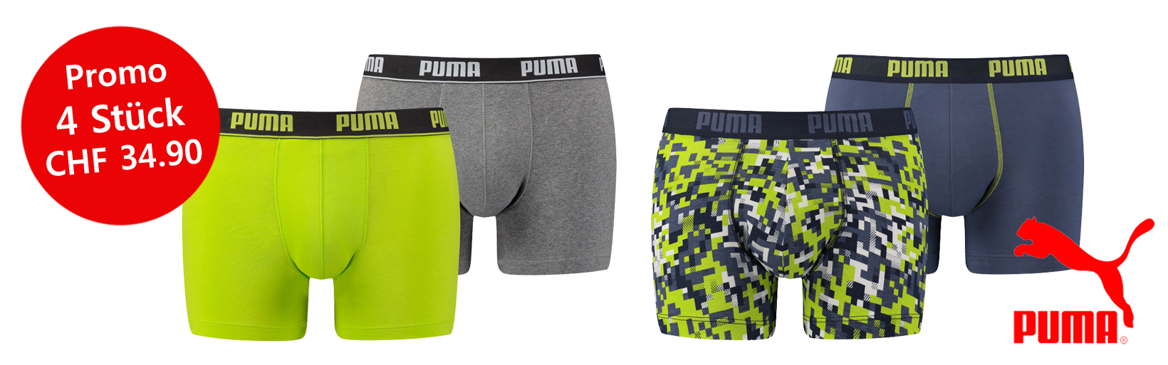 PUM Underwear Promotion