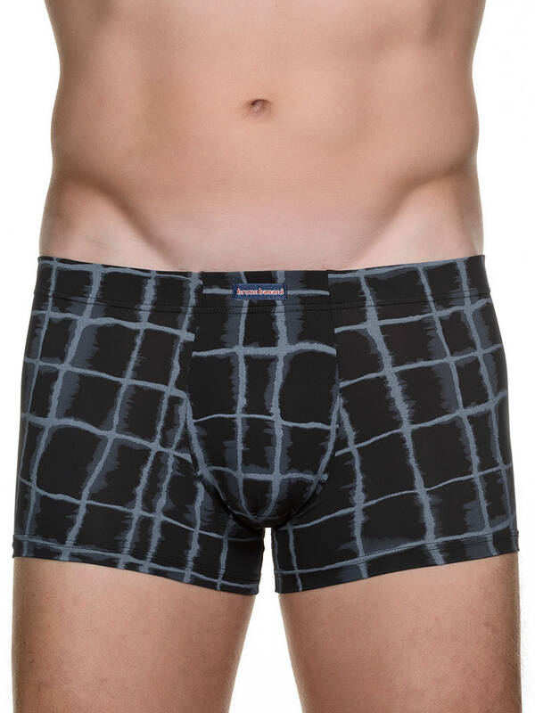 Bruno Banani Short Departure anthrazit print