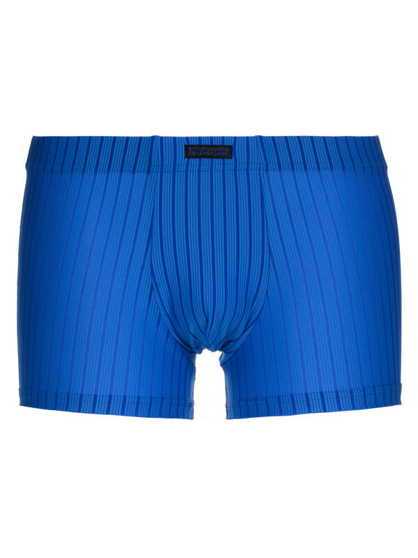 Bruno Banani Short Hallucination blau stripes