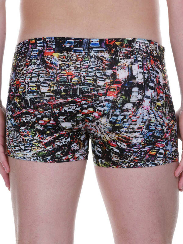Bruno Banani Short Traffic chaos-print
