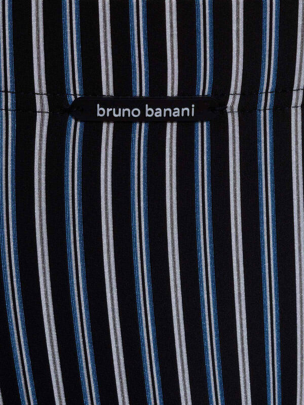 Bruno Banani Hipshort Suit schwarz stripes