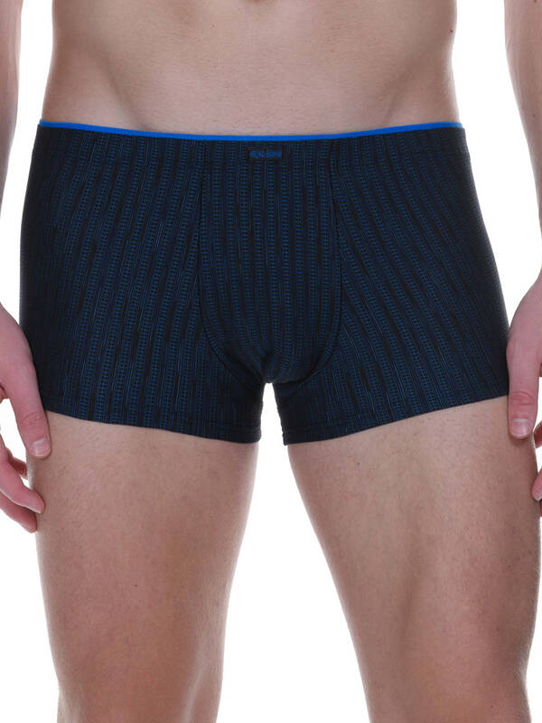 Bruno Banani Hipshort Smart City schwarz/blau stripes