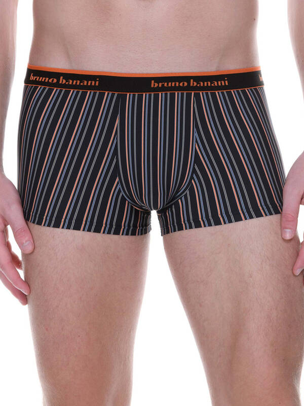 Bruno Banani Hipshort Electric Cable anthrazit-stripes