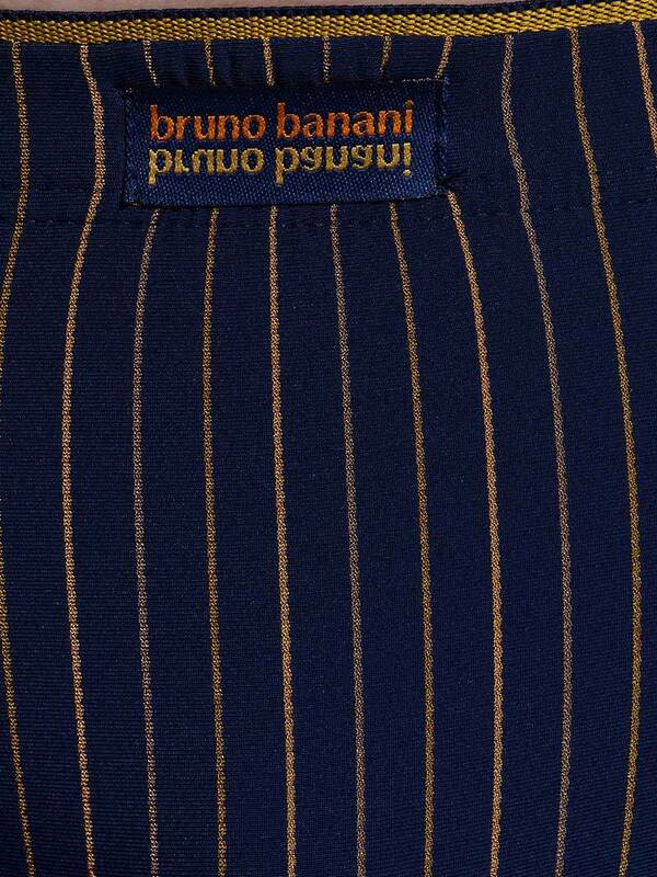Bruno Banani Sportslip Arrival navy/orange stripes