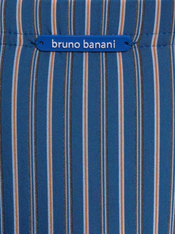 Bruno Banani Tanga Suit blau stripes