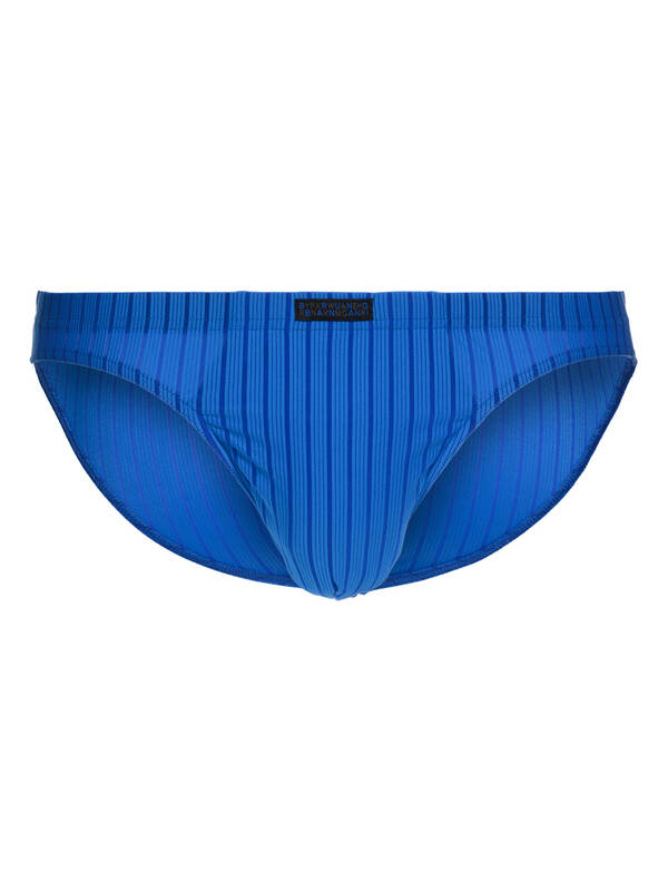 Bruno Banani Tanga Hallucination blau stripes