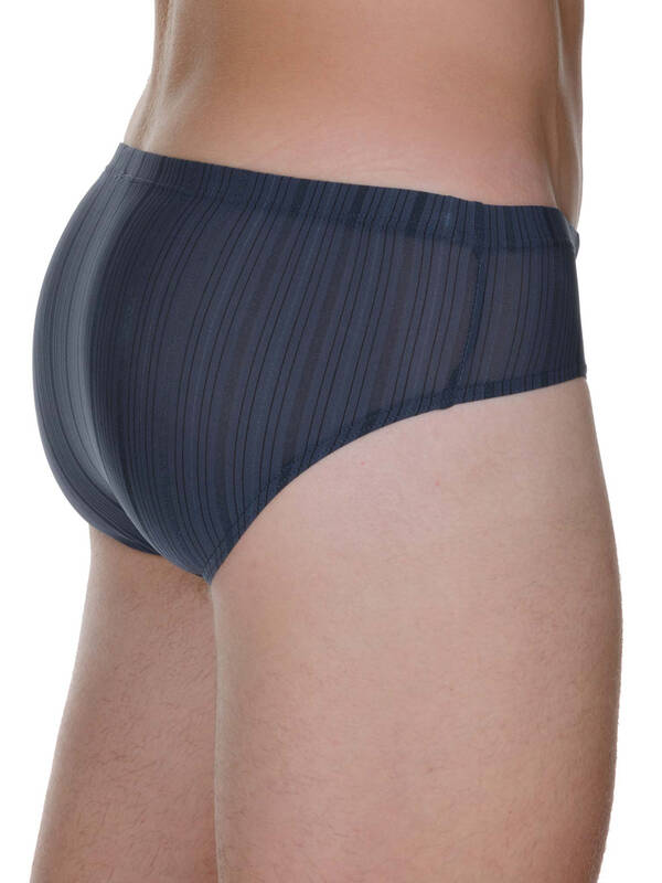 Bruno Banani Sportslip Clima Zone anthrazit stripes