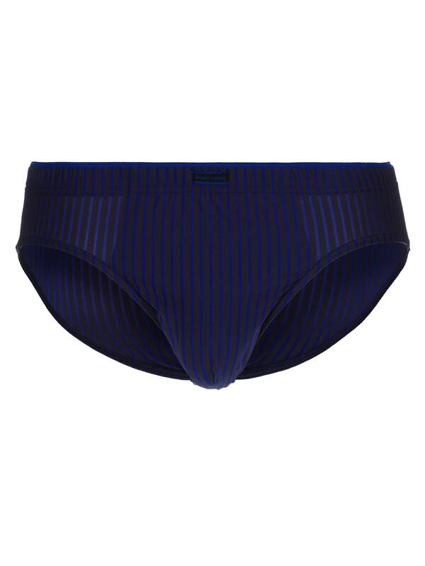 Bruno Banani Sportslip Urban Network blau/anthrazit stripes