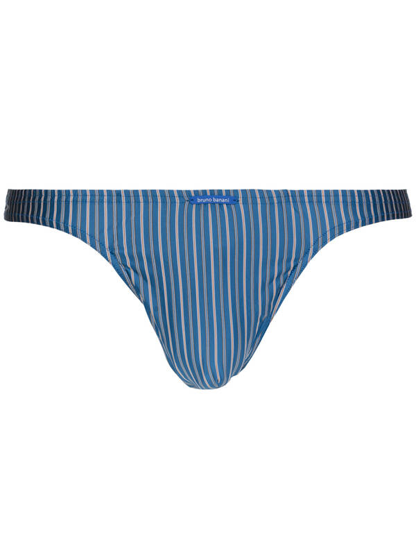 Bruno Banani String Suit blau stripes