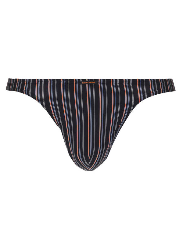 Bruno Banani String Electric Cable anthrazit stripes