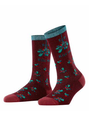 Burlington Kiss Mas Socke