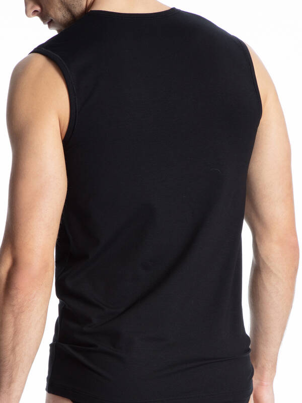 CALIDA Cotton Code Tanktop schwarz