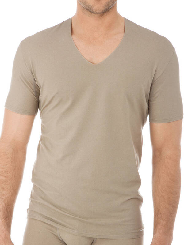 CALIDA Fresh Cotton Business Tshirt bronce