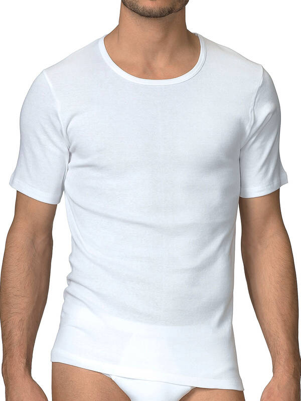 CALIDA Cotton 1:1 Tshirt weiss