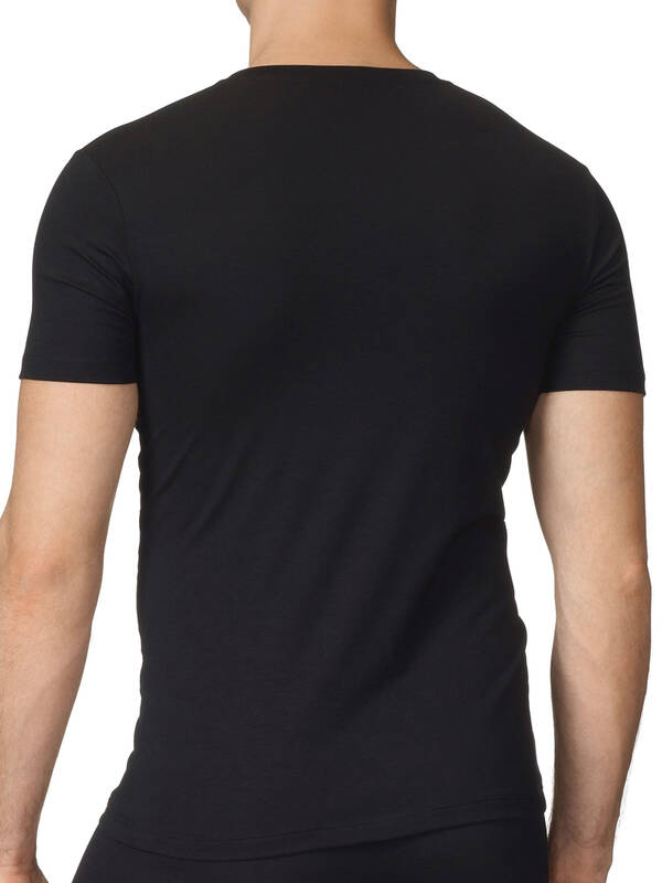 CALIDA Evolution V-Shirt schwarz