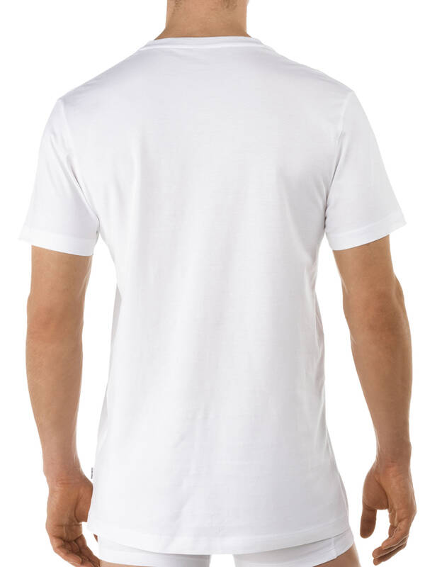 CALIDA Activity Cotton V-Shirt weiss