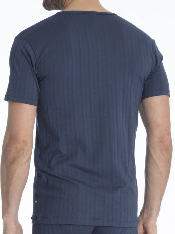 CALIDA Pure & Style Tshirt V-Neck indigo mood