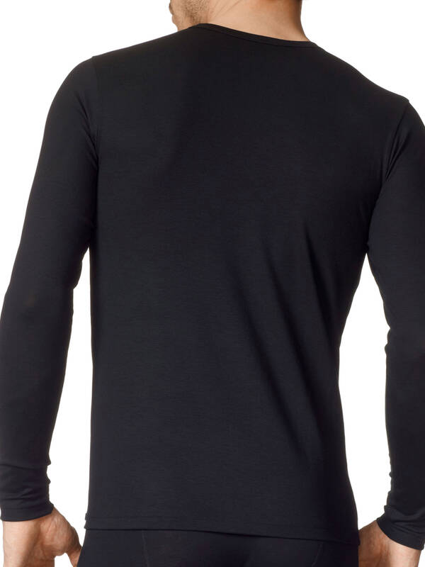 CALIDA Evolution Shirt langarm schwarz