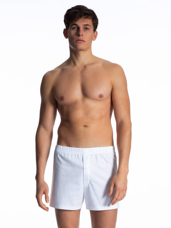 CALIDA Cotton Code Boxershort weiss