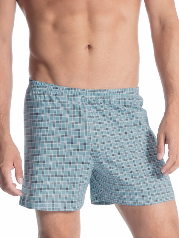 CALIDA Prints Boxershort smoke-blue