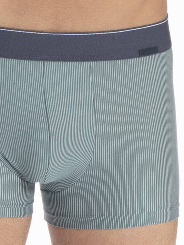 Calida Cotton Stretch Boxer Brief north atlantic