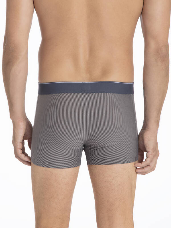 Calida Cotton Stretch Boxer Brief tower grey