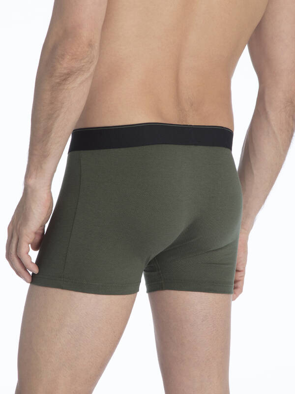 CALIDA Cotton Stretch New Boxer thyme-green