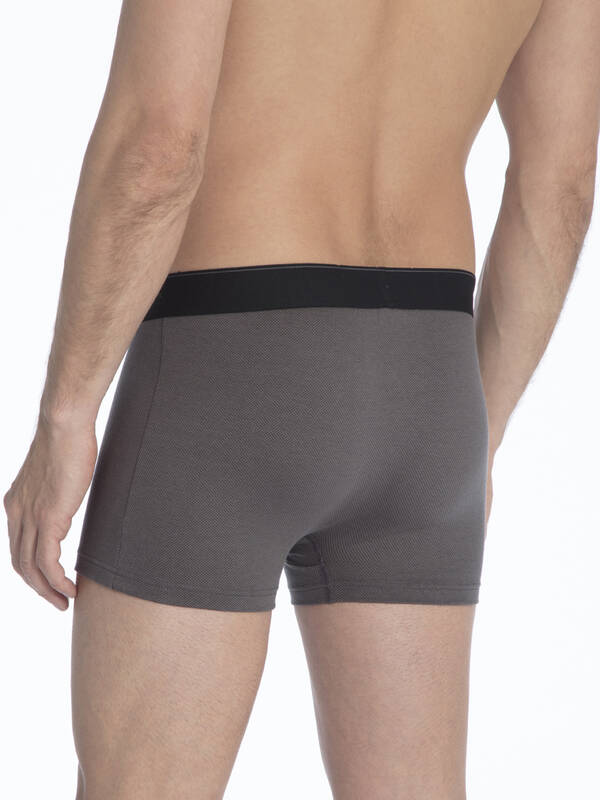 CALIDA Cotton Stretch New Boxer tower-grey
