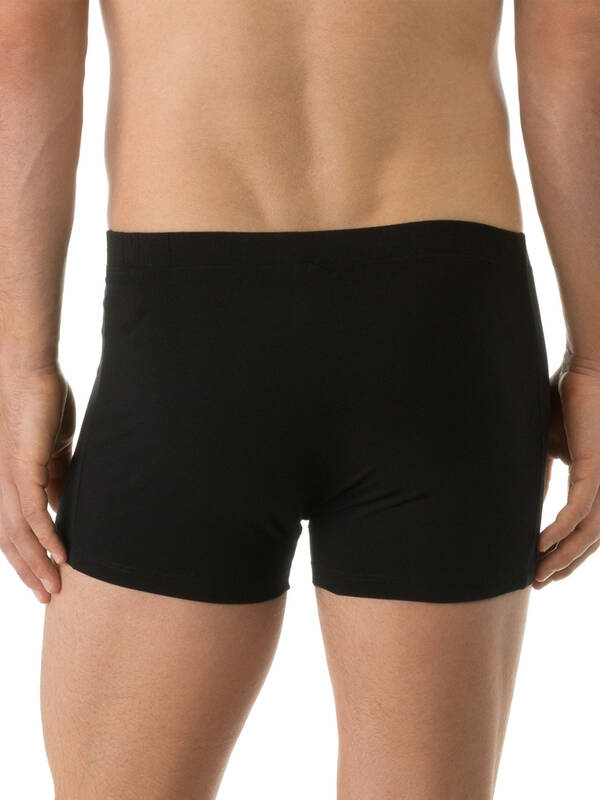 CALIDA Activity Cotton Boxer Softbund schwarz