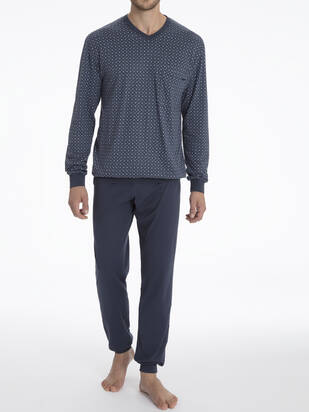 M+XL / CALIDA Larry Pyjama lang
