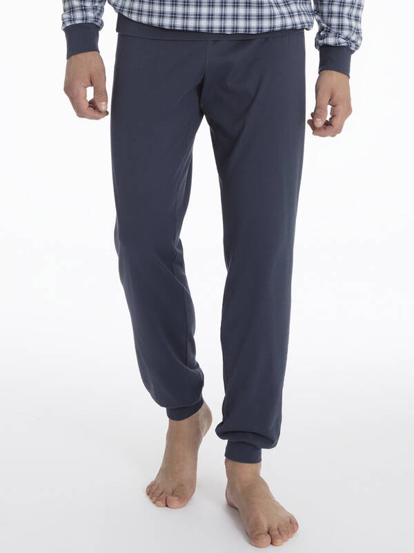 Calida Larry Pyjama lang space blue