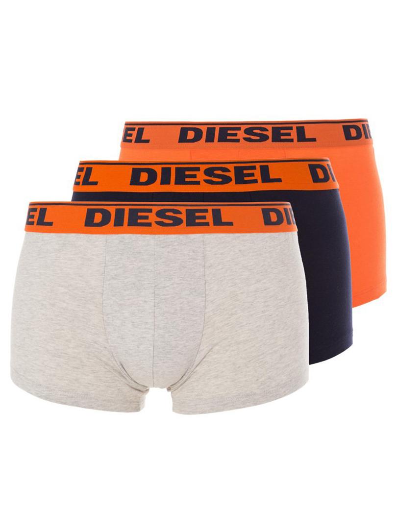 3erpack diesel boxer shawn grau schwarz orange diesel 00sb5i diesel underwear shop. Black Bedroom Furniture Sets. Home Design Ideas