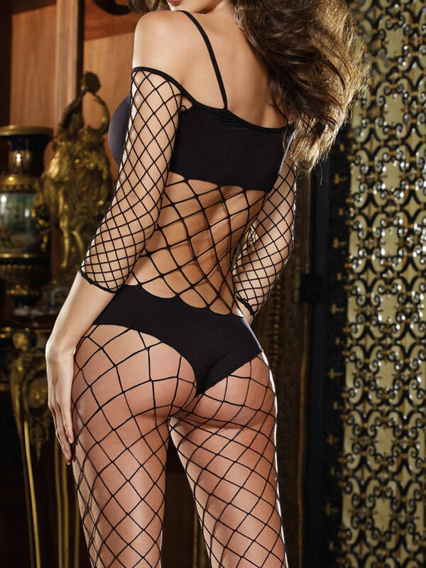 Dreamgirl Bodysuit Black Diamond black