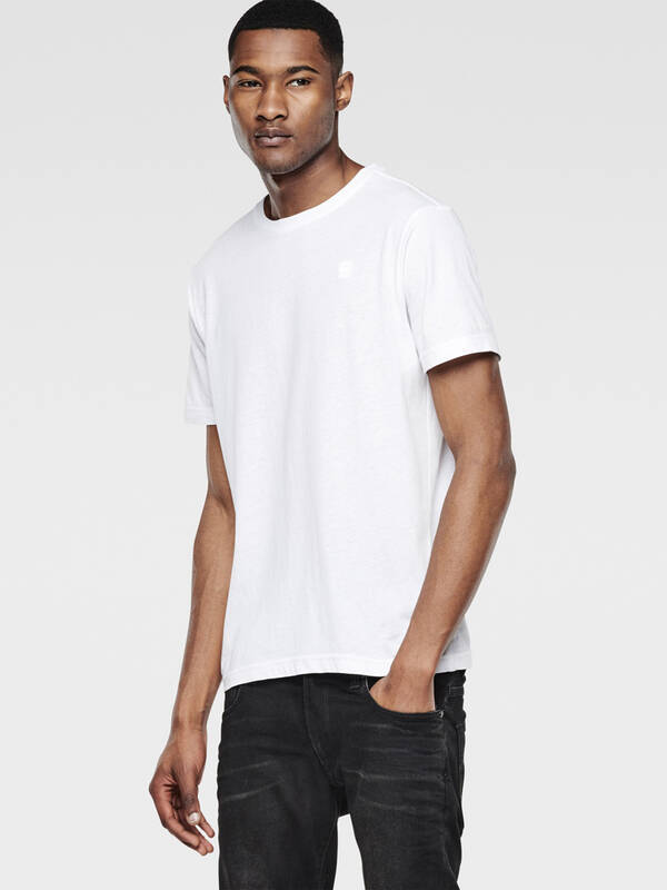 G-Star raw Men Base 2erPack Tshirt regular fit white