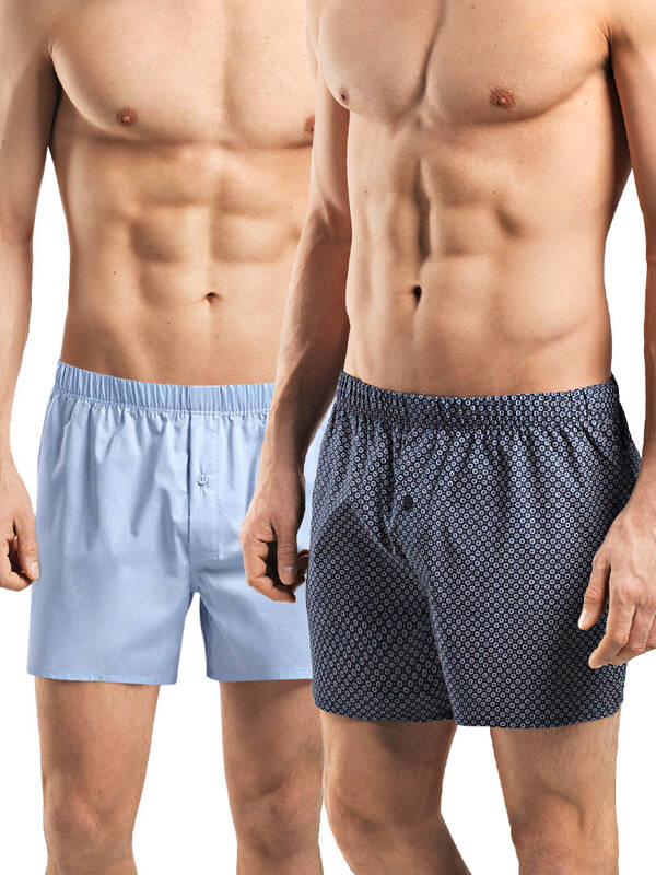 Hanro Fancy Woven Boxer 2erPack Promotion