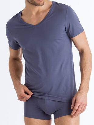 Cotton Superior V-Shirt HANRO