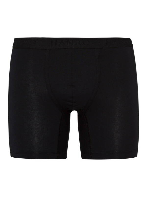 HANRO Essentials Cotton Shortleg Pant black
