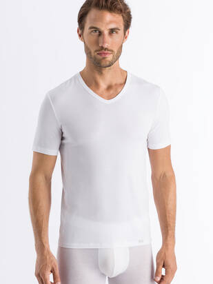 HANRO Natural Function V-Shirt