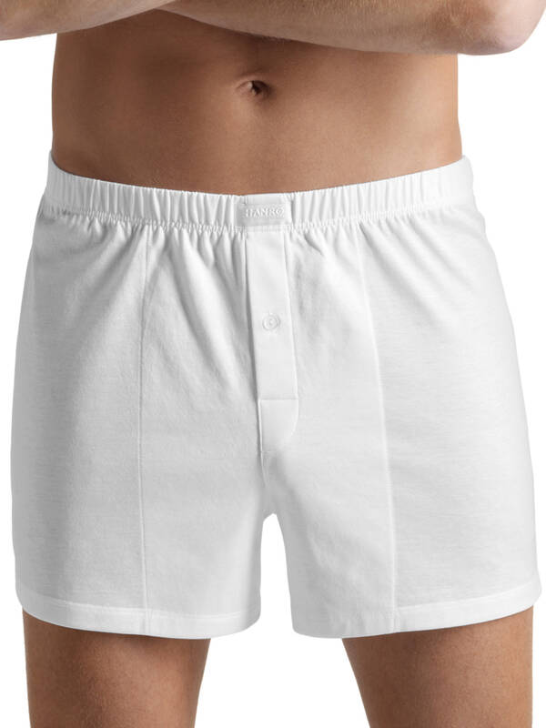 Hanro Cotton Sporty Boxer weiss