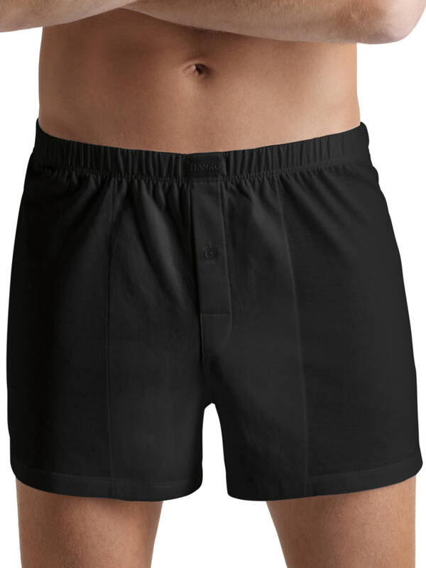 Hanro Cotton Sporty Boxer schwarz