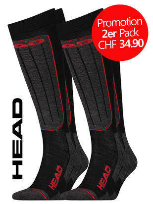2erPack HEAD Ski Socks
