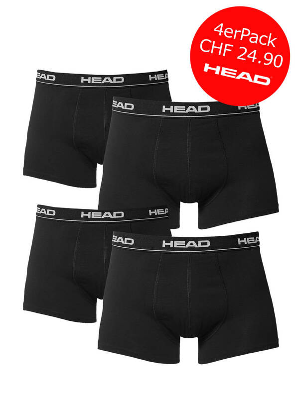 HEAD Basic Boxer 4erPack Promotion black