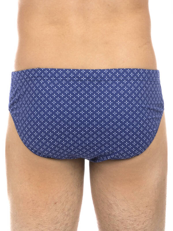 HOM Comfort MiniBrief Flowers blue