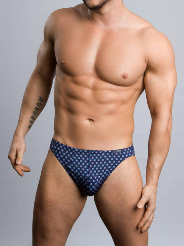 HOM Comfort MicroBrief Etoile navy