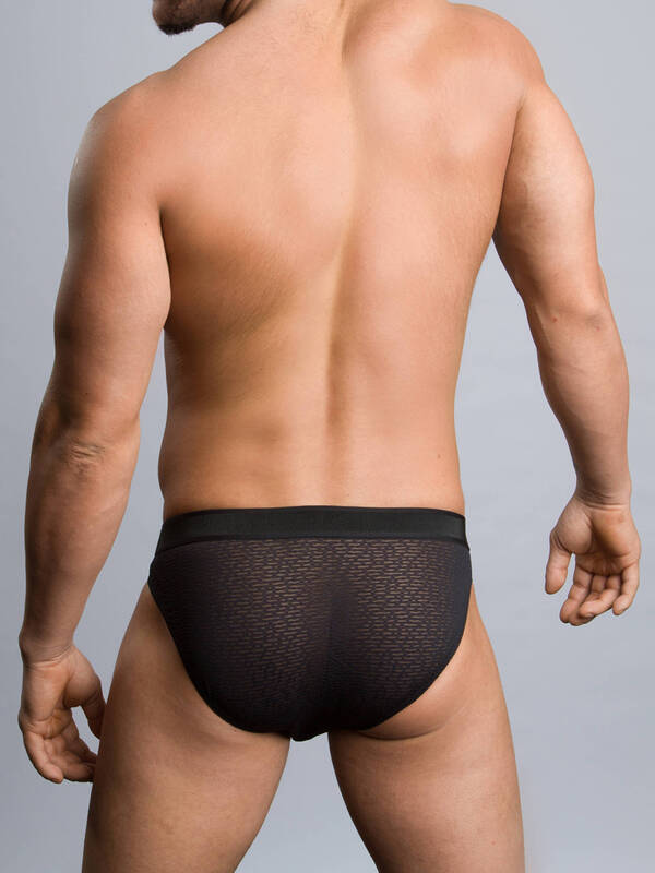 HOM MicroBrief Camo Lace black