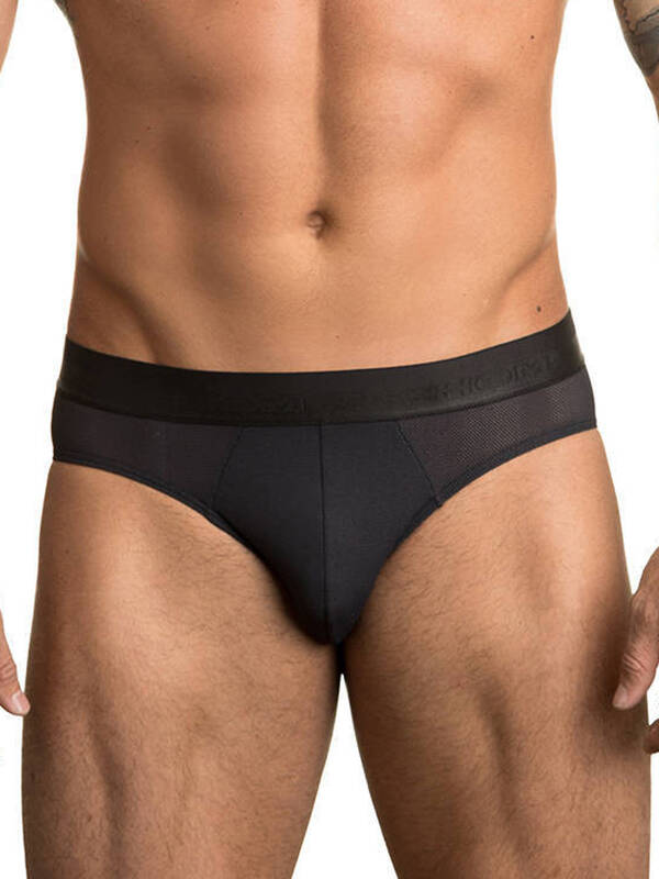 HOM MiniBrief Mesh Ultra Soft black