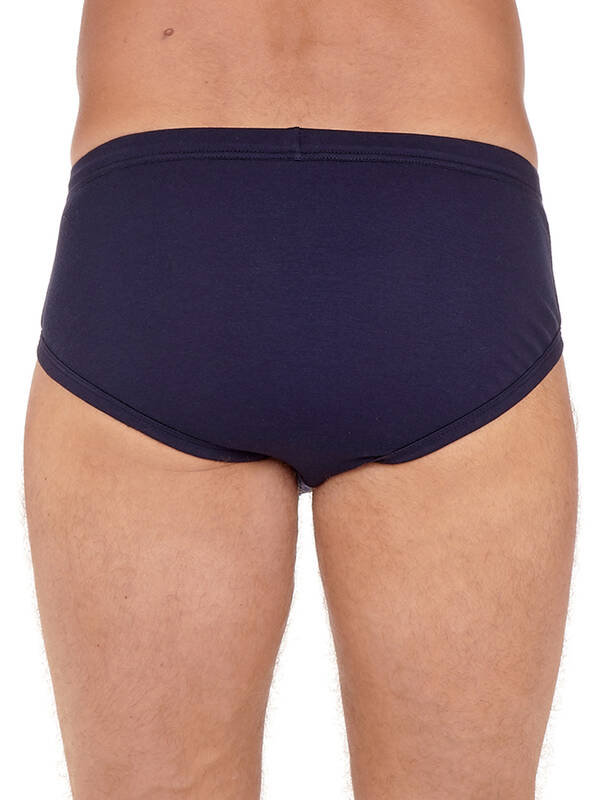 HOM Supreme Cotton HO1 MidiBrief navy
