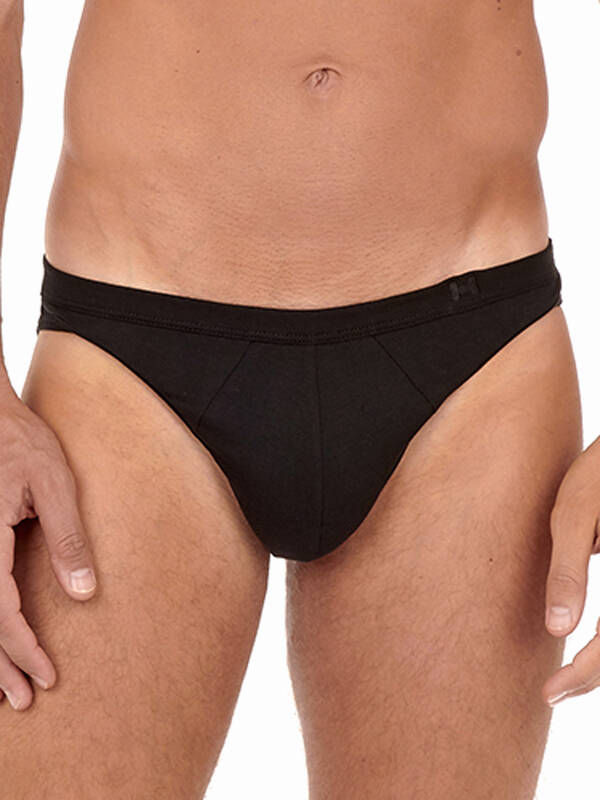 HOM Supreme Cotton MicroBrief black