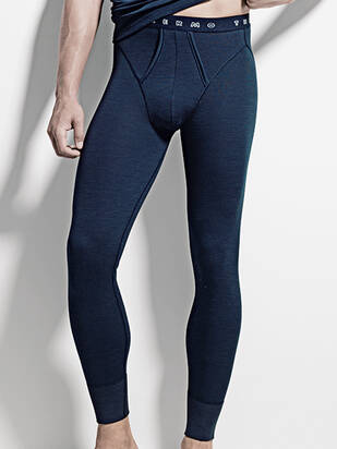 ISA Thermo Pants mit Oeffnung