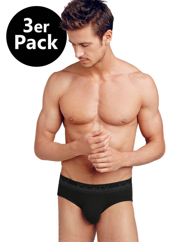 Jockey Basic 3erPack Briefs black